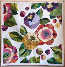 Collage Quilter Felicity Flower Wall Hanging Collage Quilt Pattern