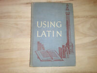 Using Latin Book Two by John Flagg Gummere Horn 1955