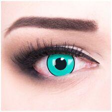 Coloured Contact Lenses blue black Gaara Contacts Color Halloween & Carnival