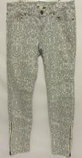 Forever 21 Life In Progress Cheetah Print Skinny Womens Juniors Size 27 Jeans