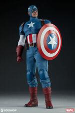 Sideshow Captain America 1/6 Scale Figure Avengers Steve Rogers Marvel New