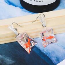 Fish Water Bag Shape Dangle Without Ear Hook Earrings Durable cZ