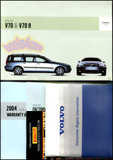 OWNERS MANUAL V70 2004 VOLVO BOOK V70R TURBO