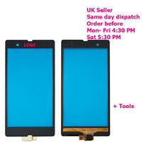 Sony Xperia Z LT36i LT36H L36H C6603 Touch Screen Digitizer Glass Black + tools