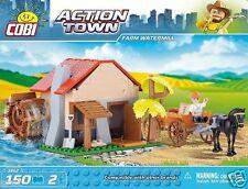 Cobi Action Town Farm Water Mill Construction Bricks/Building Blocks Set 150 pcs