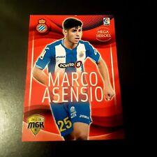 MEGACRACKS PANINI MARCO ASENSIO LIMITED EDITION BIS REAL MADRID