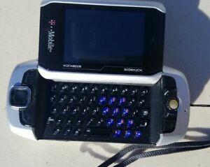 Sharp Sidekick 3 - Black Silver (T-Mobile) Smartphone NO RESERVE 👀👀🤑
