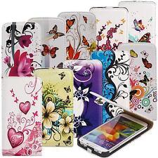 Handy Tasche für Samsung Galaxy Schutz Hülle mit Motiv Flip Cover Case Etui Bag