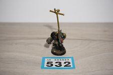 Warhammer 40k Space Marine Terminator Librarian - Metal LOT 532