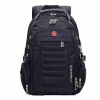 Swissgear men travel backpack student school bag Wenger computer laptop rucksack