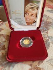 More details for 2007 alderney £1 gold proof coin diana