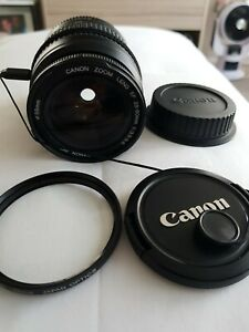 Cannon lenses used EF Fit 28-80mm  f/ 3.5-5.6 lens