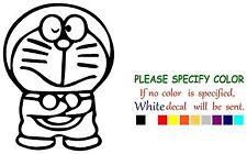 "Doraemon Stand Decal Sticker JDM Funny Vinyl Car Truck Window Bumper Laptop 11"""