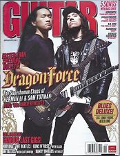 Guitar World Magazine Nov 2008 Aerosmith Dream Theater BB King Radiohead Avenged