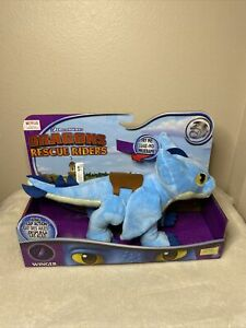 """New How To Train Your Dragon Rescue Riders 15"""" Wing Flap Action Winger Plush"""