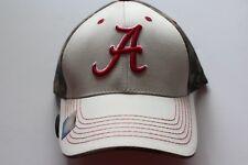 Alabama Crimson tigre cap beige camo NCAA College 3 d tapa de logotipo velcro