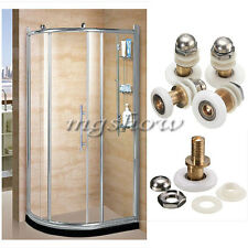4 Pcs Shower Bathroom Door Rollers Runners Wheels Pulleys Diameter 19/23/25/27mm