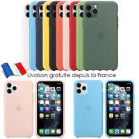 Coque Silicone TPU Case iPhone 11 / 11 Pro Max X XR XS MAX Etui Coffret