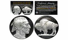 1930's BLACK RUTHENIUM Indian Head Buffalo Nickel *Full Dates w/ GENUINE SILVER