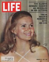 ORIGINAL Vintage Life Magazine January 22 1971 Tricia Nixon