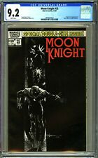 MOON KNIGHT #25 - CGC 9.2 - WP - NM- 1ST BLACK SPECTRE - CARSON KNOWLES