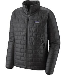 Patagonia Mens Medium Nano Puff Jacket Forde Grey
