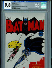 Batman #1 CGC 9.8 NM/MT Silver Foil DC Batman 1st Release POP 16 Amricons K14