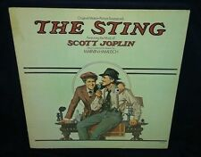 THE STING SOUNDTRACK, 1974 VINYL LP (VG) cover VG+, SCOTT JOPLIN, RAGTIME