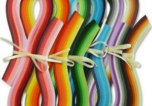 720pcs/set Paper Quilling 540mm Origami Paper Hand Craft Tool 3/5/7/10mm Width