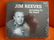 2 CD – JIM REEVES : ACCORDING TO MY HEART – COMPILATION BLACK BOX 2006 – NEUF !