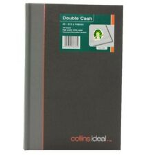COLLINS IDEAL A5 DOUBLE CASH BOOK REF. 464 192 PAGES **GREAT PRICE**