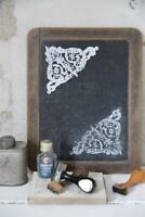 Jeanne d'Arc Living Stencil Stempel Triangel 14x13cm Schablone Wiederverwendbar
