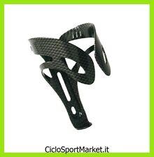 Portabidón de aluminio Carbon Look para bicicleta / Ligero y Resistente