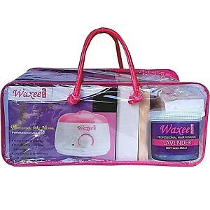 Complete waxing kit STARTER soft wax 450ml pot & 500g film wax HAIR REMOVAL HOT!