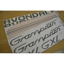 AVONDALE Grampian GXL Caravan Stickers Decals Graphics - SET OF