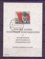 DDR Thälmann 1956 - Block 14 gestempelt Tagesstempel - Michel 40,00 € (775)