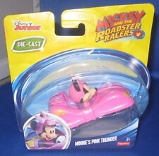 DISNEY JUNIOR DIE CAST MICKEY & THE ROADSTER RACERS MINNIE'S PINK THUNDER, NEW