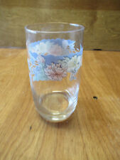 "Arcopal France FLORINE Glassware Set of 4 Tumblers 10 oz 5"""
