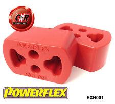 x 3 FORD ESCORT RS Turbo Serie 2 Powerflex SOPORTES DE ESCAPE exh001