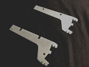T3//30cm KONSOLE-braun KIND Konsolen ehem.SCHLECKER-REGAL ZUBEHÖR 2Paar