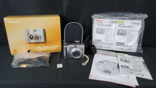 Fully Functional! Silver Canon Powershot A550 Digital Camera w/ SD Card & Case!