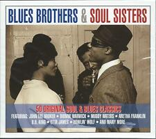 Blues Brothers & Soul Sisters - 50 Original Soul & Blues Classics 2CD NEW/SEALED