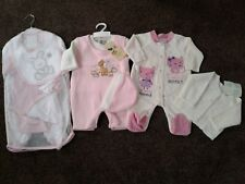 Bundle of baby girls warm winter clothes size 0-3 months BNWT