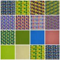 Kids Monsters 100% Cotton Fabric Material for Quilting Patchwork Craft Sewing
