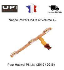 Pour Huawei P8 Lite (2015-2016 ALEL-21) Nappe Power On/Off et Volume +/- OEM
