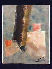 Gouache Abstraite Antonio Sanchez-Mendoza Abstrait .