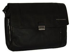 Borsa tracolla cartella messenger bag PIQUADRO SC a. CA2794W52 col. N NERO BLACK