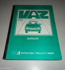 Ersatzteilkatalog Lada Samara 1100 / 1300 / 1500  VAZ 2108 3-Türer Stand 1989