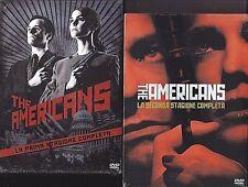8 Dvd x 2 Box Cofanetto THE AMERICANS ♦ STAGIONE PRIMA 01 + SECONDA 02 completa