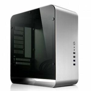 Jonsbo UMX1+ Silver/Window ITX Case